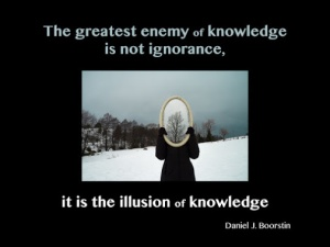 Illusion of Knowledge