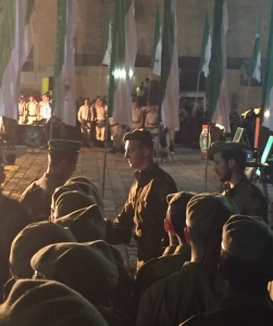 Yaakov army induction