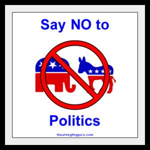 SayNo-Politics