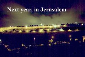 next year Jerusalem copy