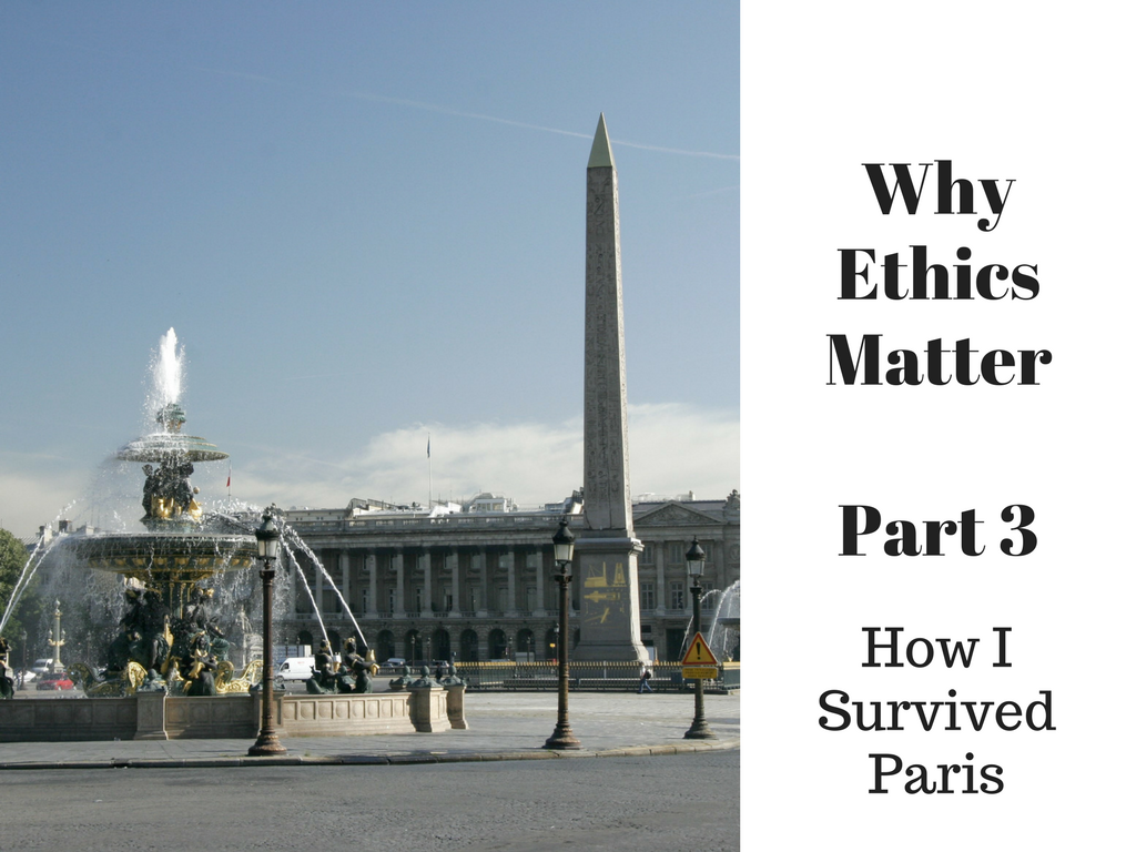 why ethics matter This series of 3 blogs invites you to explore a future coexistence of people and intelligent machines – and pinpoints what we need to do to make sure ai benefits, rather than harms.
